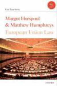 European Union Law Horspool Margot Humphreys Matthew - 2826051725