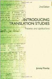 Introducing Translation Studies Munday Jeremy textbook translation - 2826051646