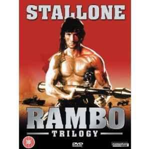Rambo Trilogy Box Set First Blood / Rambo - First Blood 2 / Rambo 3 (3 Disc Box Set) [DVD] - 2826048178