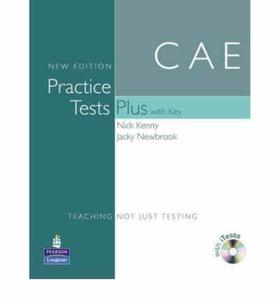 Practice Tests Plus CAE New Edition Students Book with Key/CD-ROM Pack Nick Kenny Jacky Newbrook - 2826047585