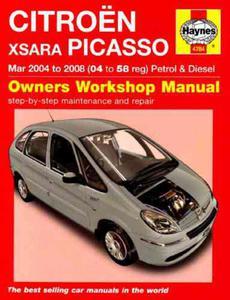 Citroen Xsara Picasso Petrol and Diesel Service and Repair Manual: 2004 to 2008 (Haynes Service and Repair Manuals) - 2826044828