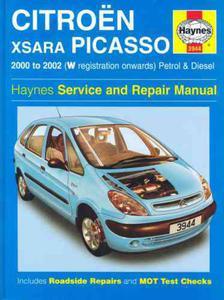 Citroen Xsara Picasso: Petrol and Diesel 2000-2002 (Haynes Service and Repair Manuals) - 2826044817