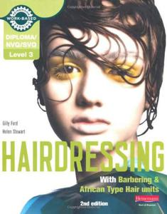 NVQ/SVQ Level 3 Hairdressing (with Barbering and African Type Hair Units), 2nd edition - 2826044641