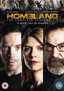 Homeland - Season 1-3 [DVD] sezony 1 2 3 - 2826037236
