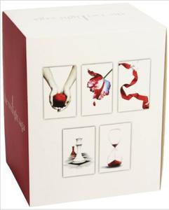 Saga Zmierzch Twilight Saga 5 Book Set (White Cover) - 2826034123