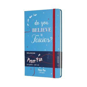 Notatnik Piotruś Pan Moleskine Peter Pan Limited Edition Fairies Malachite Green Large Ruled Notebook Hard - 2857556102