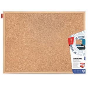 Tablica korkowa w drewnianej ramie, 80x60 cm - 2843325387