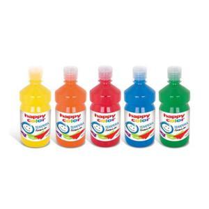Farba tempera Happy Color 500 ml, NR 09 czarna - 2833613977