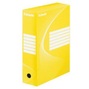 Pudło archiwizacyjne Esselte 100mm żółte - 2833613539