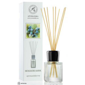 Aromadyfuzor Jałowiec, Dyfuzor Zapachu, Zawiera 100% Naturalny Olejek, Aromatika - 2826077268