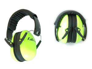 Słuchawki ochronne nauszniki dla dzieci ok 1-12lat - cytryna - 2864305272