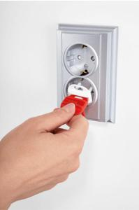 Zabezpieczenia gniazdek zaślepki 6szt + klucz REER - 2832974211