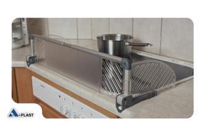 Osłona płyty kuchennej kuchenki 60-90cm, A-PLAST - 2848473241