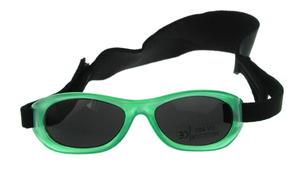 Okulary przeciwsłoneczne 1-3 lat, UV 400, A-PLAST - ciemnozielony - 2832974236