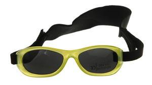 Okulary przeciwsłoneczne 1-3 lat, UV 400, A-PLAST - żółty - 2832974237