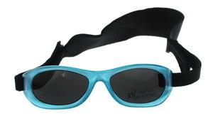 Okulary przeciwsłoneczne 1-3 lat, UV 400, A-PLAST - niebieski - 2869096465