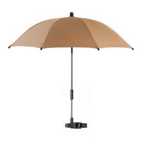 Parasolka przeciwsłoneczna do wózka UV 50+ REER - brązowy - 2850629079