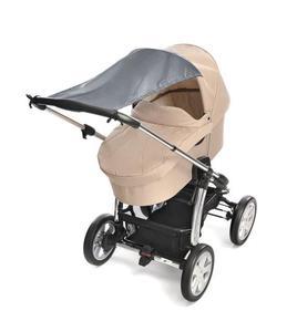 Daszek przeciwsłoneczny osłona do wózka UV50 REER - szary - 2866095420