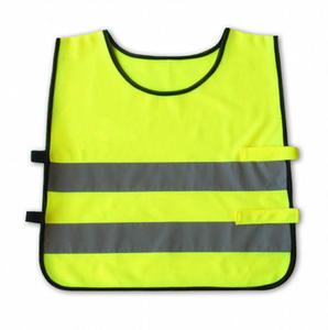 Kamizelka odblaskowa dla dzieci 5 - 7 lat 45x50cm - żółty - 2832974032