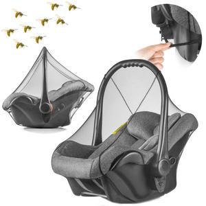 Moskitiera czarna do fotelika samochodowego, REER - czarny - 2832973893