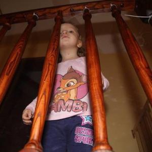 Zabezpieczenie do balustrady, folia PVC, 150x90cm - 150cm x 90cm - 2855810455