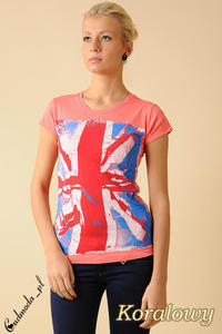 CM0050 Damski T-shirt z nadrukiem  - 2832070730