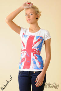 CM0050 Damski T-shirt z nadrukiem  - 2832070734