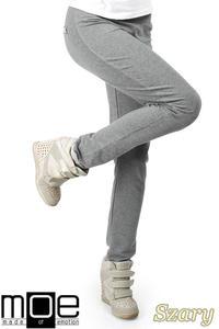 CM0358 Dresowe spodnie damskie - szare - 2832070995