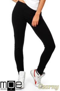 CM0358 Dresowe spodnie damskie - czarne - 2832070996