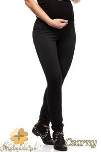 CM0732 Ciążowe legginsy spodnie z kieszeniami - czarne - 2832072327