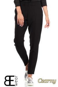CM1863 Klasyczne eleganckie spodnie na kant - czarne - 2832075853