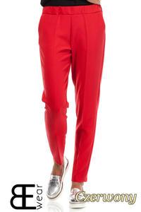 CM1863 Klasyczne eleganckie spodnie na kant - czerwone - 2832075856