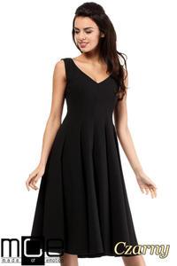 3b5c2c0cdd1844 CM2049 Wieczorowa sukienka na wesele - czarna - 2832076469