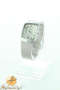 CM2192 Srebrny zegarek damski na bransolecie - 2832076847
