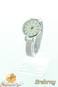 CM2197 Stylowy ozdobny zegarek damski - srebrny - 2832076857