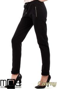 CM2210 Nowoczesne dresowe spodnie damskie - czarne - 2832076889