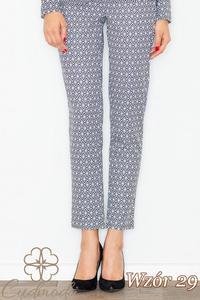 CM2708 Klasyczne spodnie we wzory - wzór 29 - 2847121245