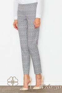CM2708 Klasyczne spodnie we wzory - wzór 30 - 2847121246