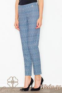 CM2708 Klasyczne spodnie we wzory - wzór 31 - 2847121247