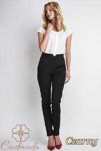 CM2776 Klasyczne spodnie biurowe - czarne - 2847866379