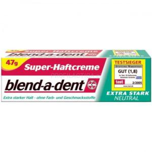 BLEND-A-DENT extra stark neutral klej do protez 47g - 2835215495