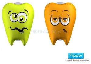 FLIPPER Toothfairy Lime and Orange 2 szt - 2845566868