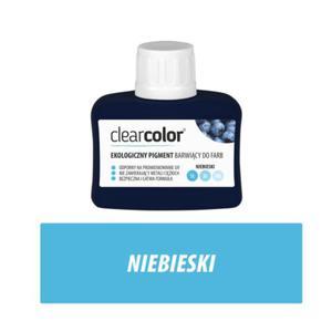 Clear Color ekologiczny pigment - Niebieski 80 ml - 2827421961
