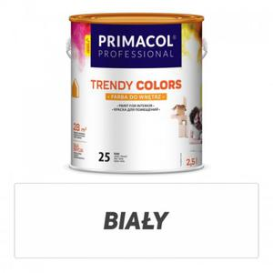Farba Trendy Colors biała 2,5 l - 2827420957