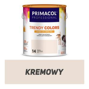Farba Trendy Colors kremowa 2,5 l - 2827420962