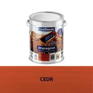 LuxDecor 5 l cedr impregnat dekoracyjno-ochronny do drewna - 2827421218