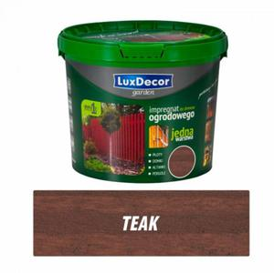 Impregnat do drewna ogrodowego 5l - Luxdecor garden kolor: teak - 2827421436