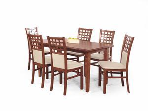 Zestaw: stół Marcel (140-180x80x75 cm) i 6 krzeseł Gerard 3 Halmar - 2 kolory - 2845113819