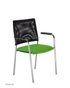 Krzesło Intrata Visitor 32 (V-32) ARM FL Nowy Styl - 2845113536