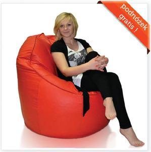 Fotel Exclusive + Podnóżek Gratis! Polskie Pufy - 2844591414